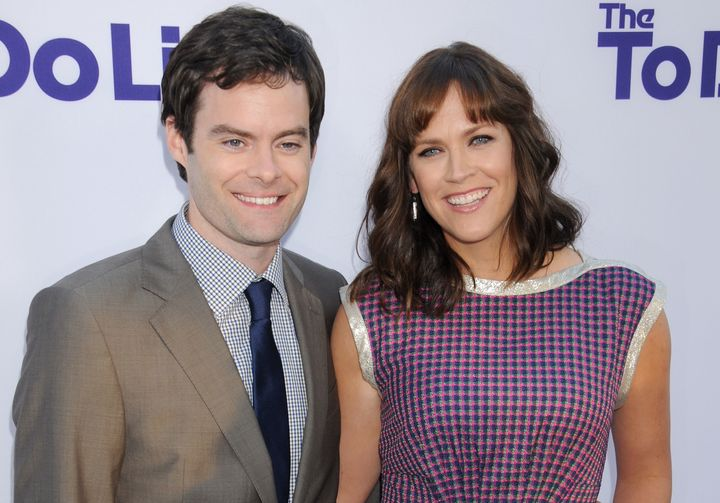 Bill Hader and his wife, Maggie Carey, have three daughters.