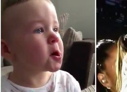 Baby Tearing Up At Ariana Grande's One Love Manchester Performance Is All Of Us