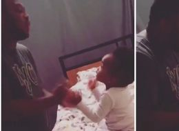 Sassy One-Year-Old Answering Dad Back In An Argument Becomes Internet Queen