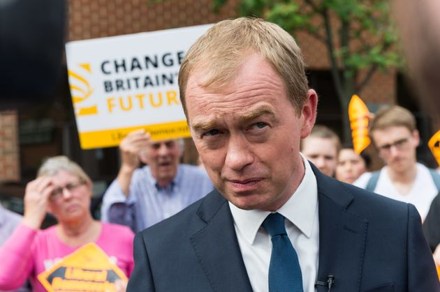 Tim Farron is backed by The
