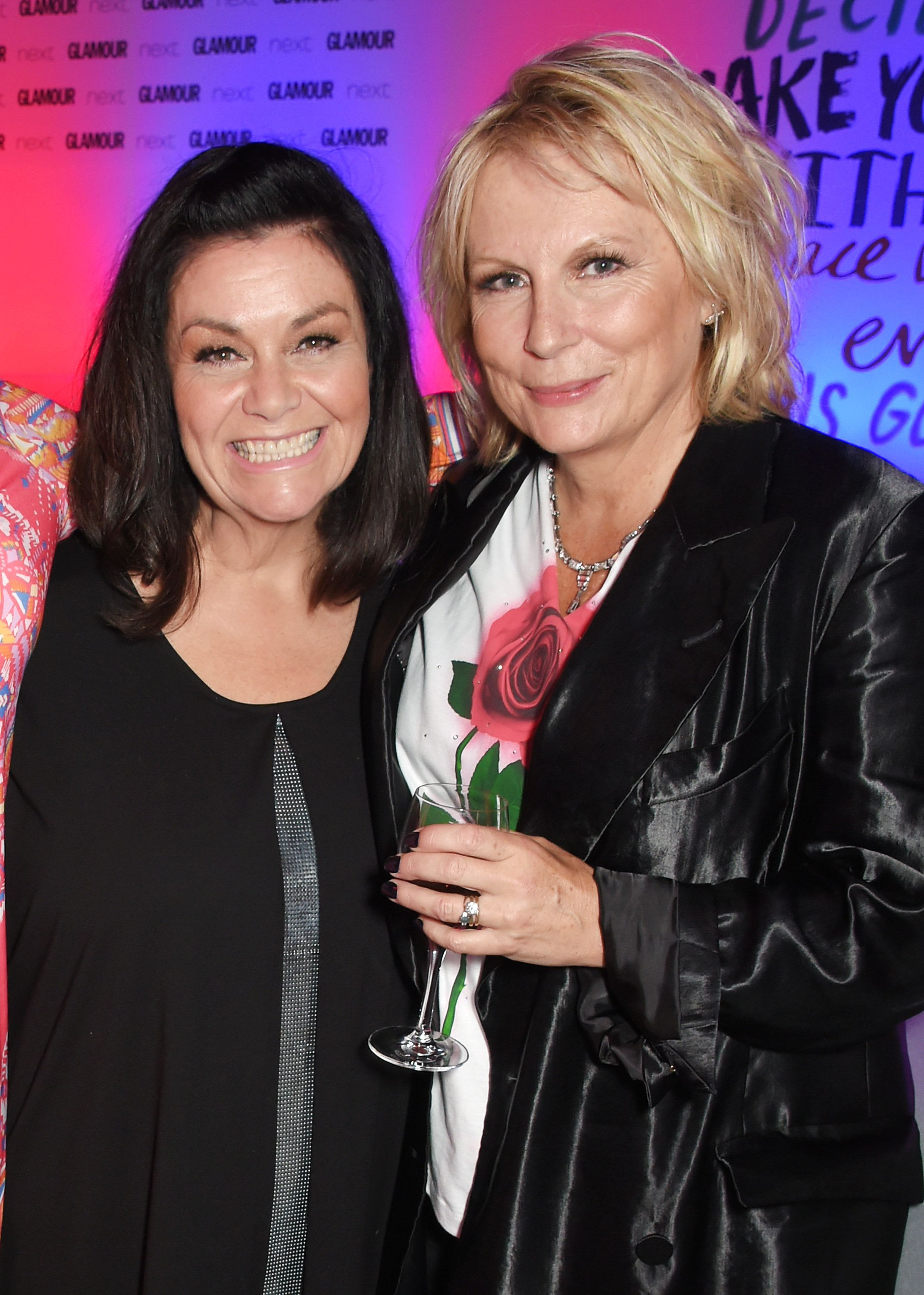 Dawn French and Jennifer Saunders laid into Donald Trump at the Glamour