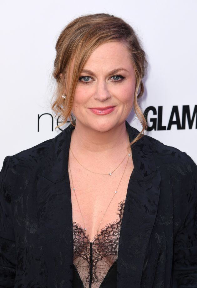 Amy Poehler also quipped about the US president in her acceptance