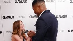 Anthony Joshua Met Geri Horner At The Glamour Awards And It Was