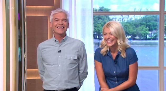 Fearne Cotton's cupcakes were a source of amusement for Phillip Schofield and Holly