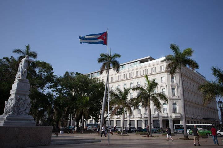 The Gran Hotel Manzana is the first luxury five star hotel in Cuba.
