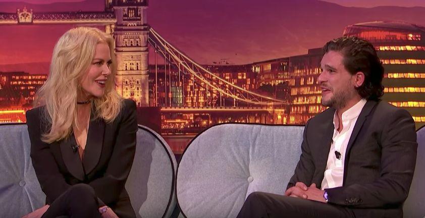 Nicole Kidman Awkwardly Pressures Kit Harington To Propose To Rose