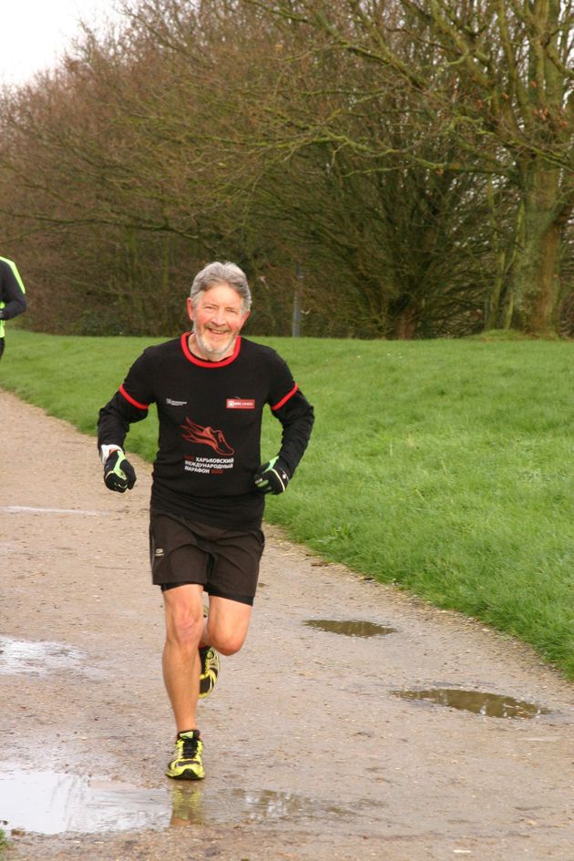 Keith Simpson ran 26 marathons in alphabetical