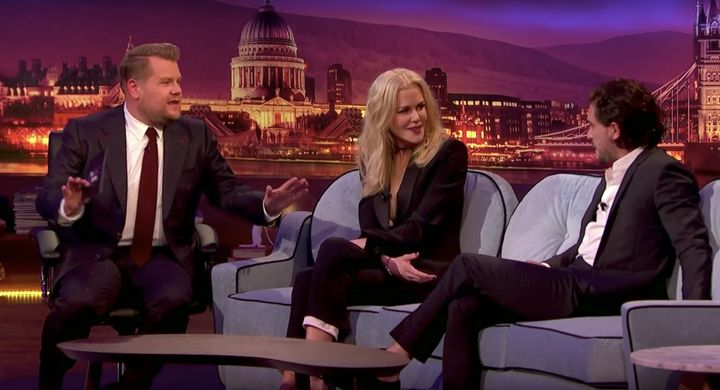 Kit Harrington Pens Love Poem to Nicole Kidman on LATE LATE SHOW