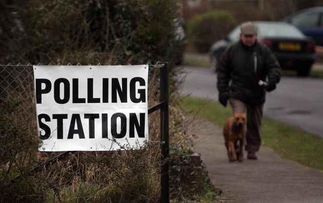 You're welcome to bring a four-legged friend to the polling station as long as they don't disrupt the