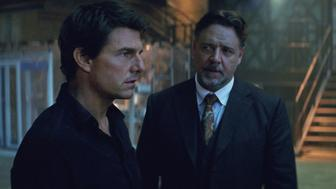 """(L to R) Nick Morton (TOM CRUISE) and Dr. Henry Jekyll (RUSSELL CROWE) in a spectacular, all-new cinematic version of the legend that has fascinated cultures all over the world since the dawn of civilization: """"The Mummy.""""  From the sweeping sands of the Middle East through hidden labyrinths under modern-day London, """"The Mummy"""" brings a surprising intensity and balance of wonder and thrills in an imaginative new take that ushers in a new world of gods and monsters"""