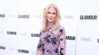 LONDON, ENGLAND - JUNE 06:  Nicole Kidman attends the Glamour Women of The Year awards 2017 at Berkeley Square Gardens on June 6, 2017 in London, England.  (Photo by Mike Marsland/Mike Marsland/WireImage)