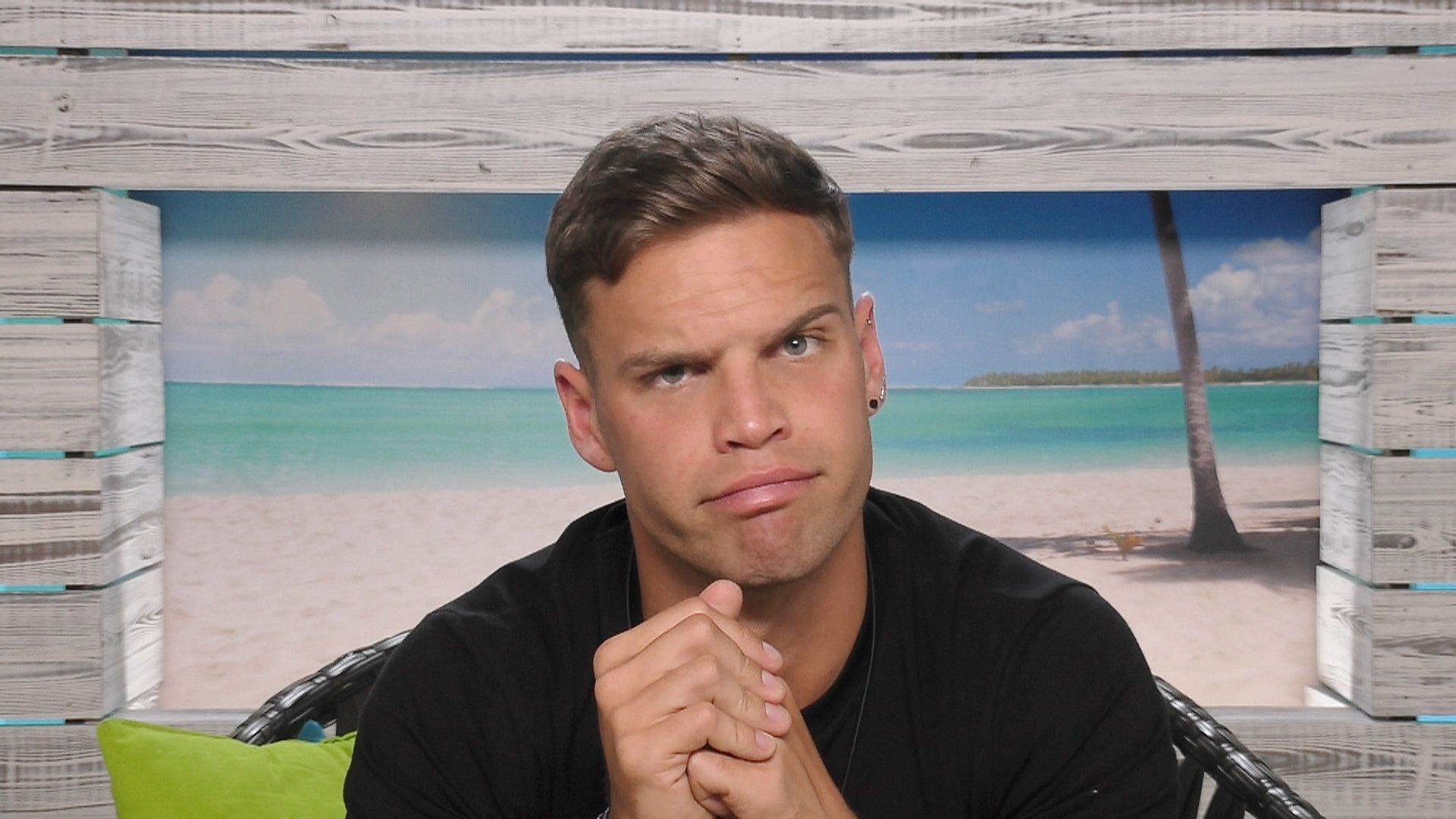 Dom is currently involved in a 'Love Island' love