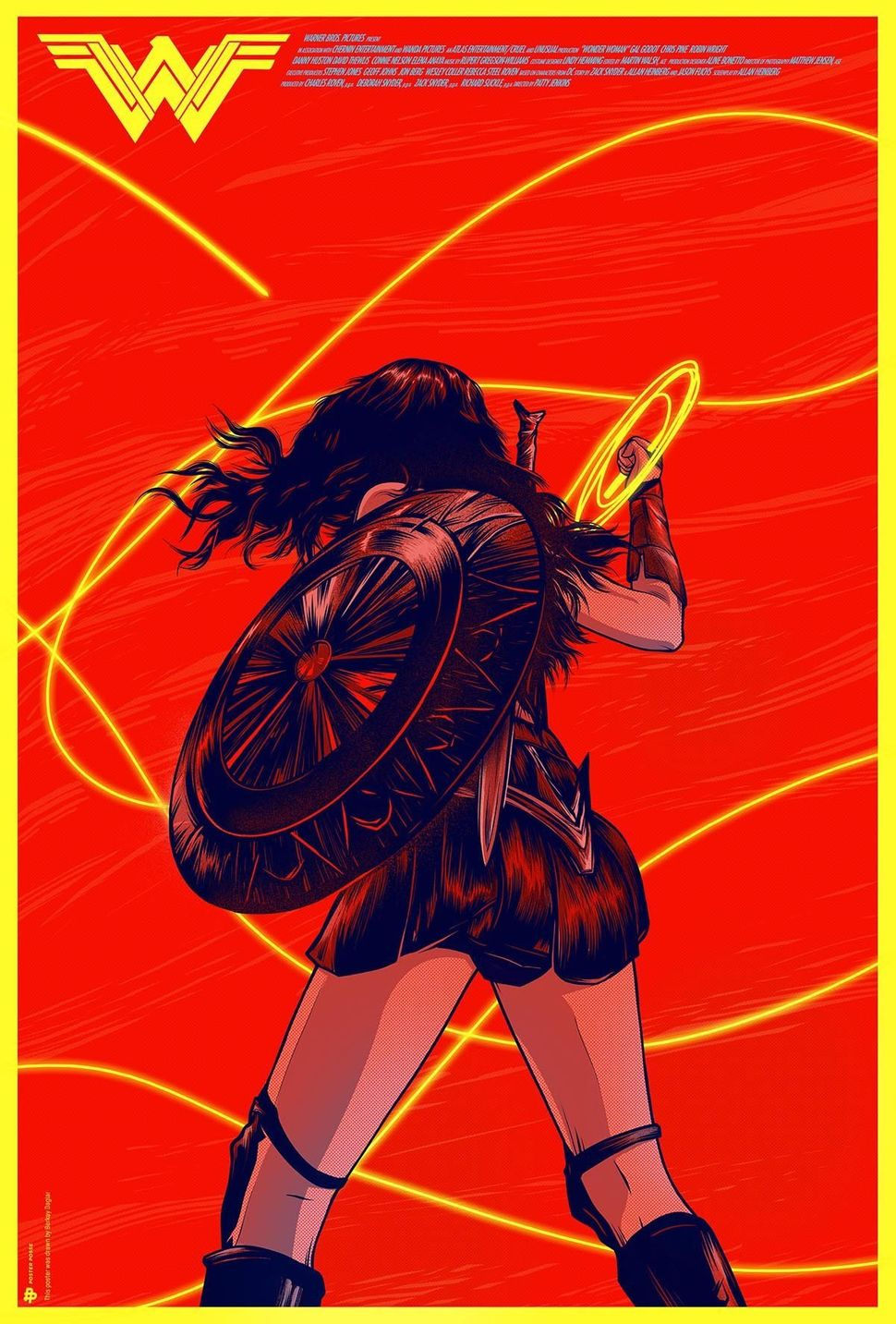 8 gorgeous illustrations that give wonder woman the