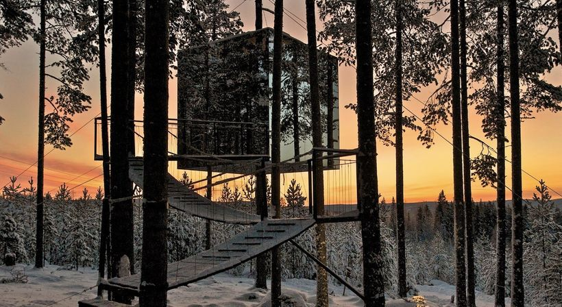 Treehotel in Swedish Lapland