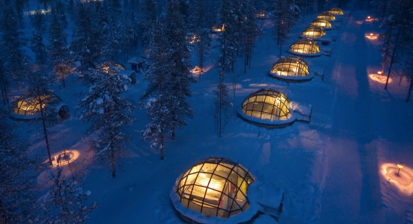 Kakslauttanen Arctic Resort in Finish Lapland
