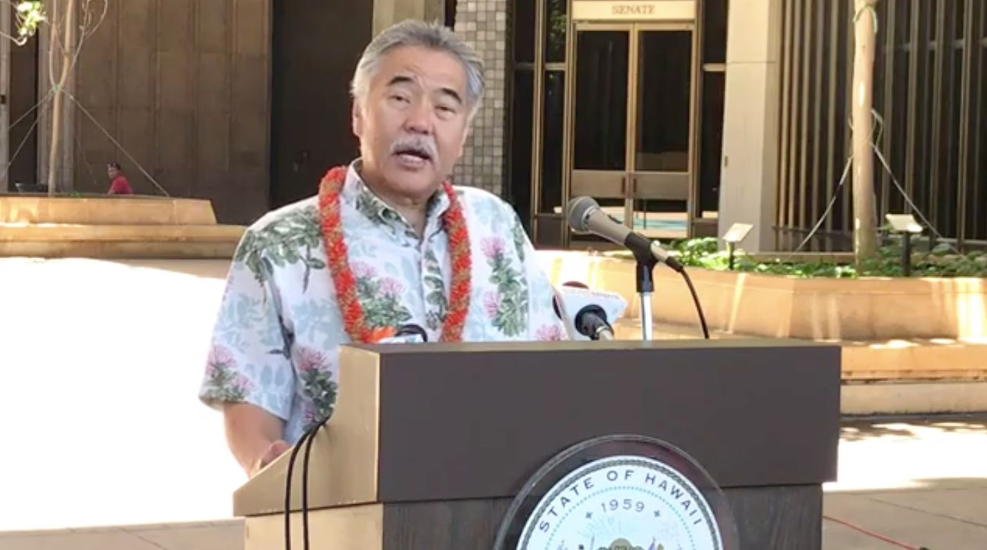 Hawaiian Gov David Ige (D) signed two new climate bills into law on Tuesday that adhere to the Paris Agreement.