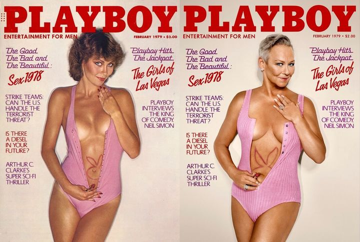 "Collins Jordan <a href=""http://www.playboy.com/articles/playmates-re-enact-their-iconic-covers"" target=""_blank"">told the magazine she feels</a>&nbsp;""very, very lucky to be in such a unique sorority"" as a Playmate.&nbsp;"