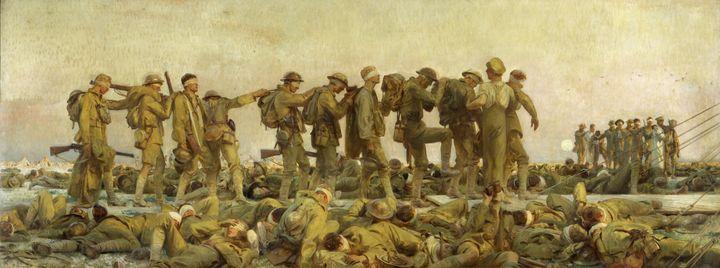 """Gassed,"" by John Singer Sargent (c. 1919)."