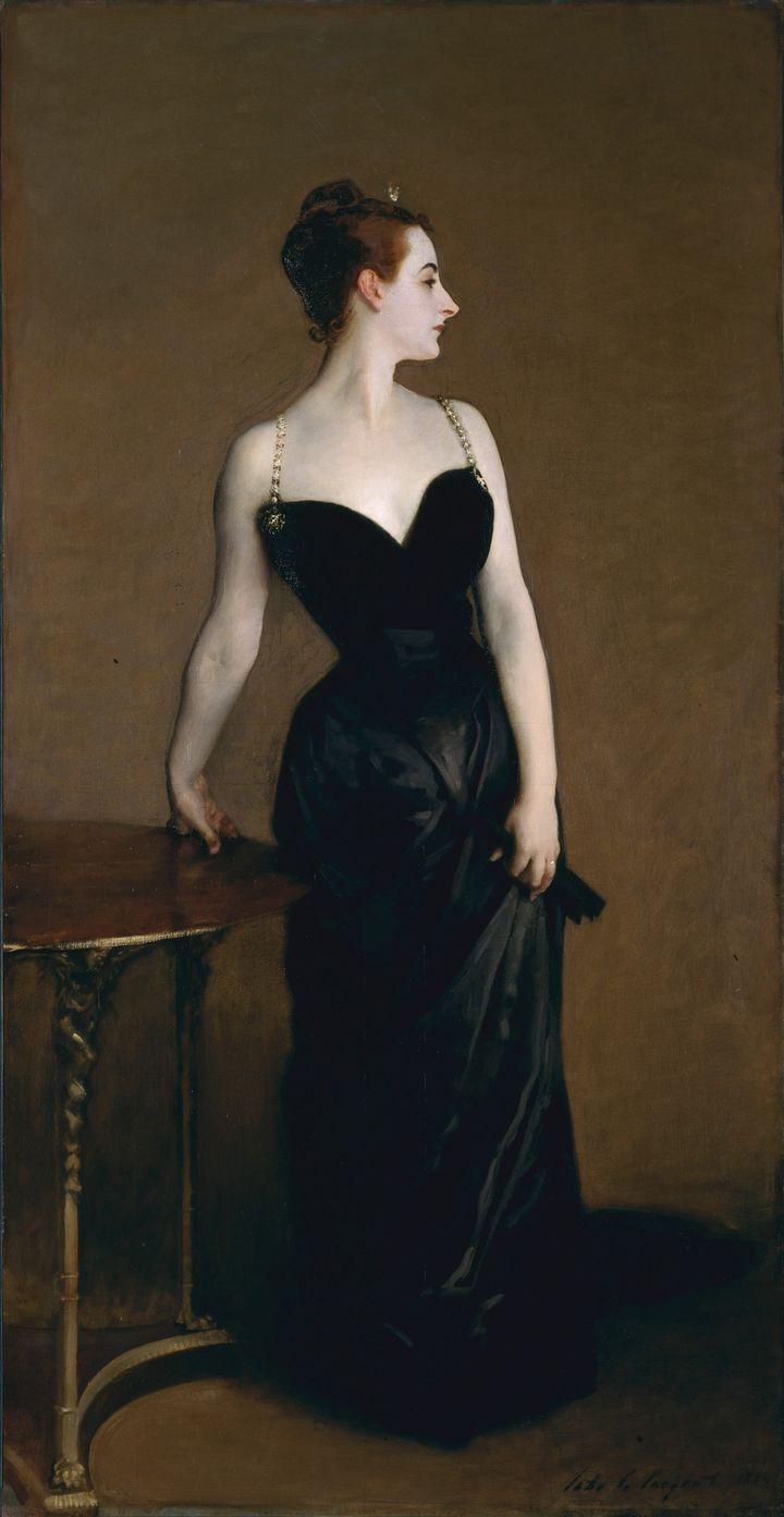 A portrait ofMadame X (Madame Pierre Gautreau) by John Singer Sargent, 1884.
