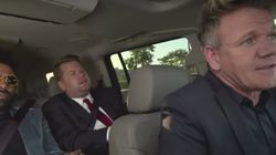 James Corden Torments Gordon Ramsay With 'Friends' Theme
