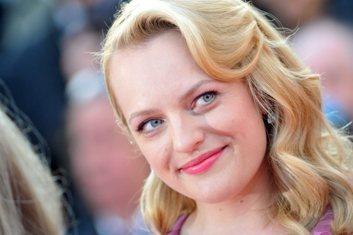"Elisabeth Moss at ""The Beguiled"" premiere during the 70th annual Cannes Film Festival at Palais des Festivals on May 24, 2017"