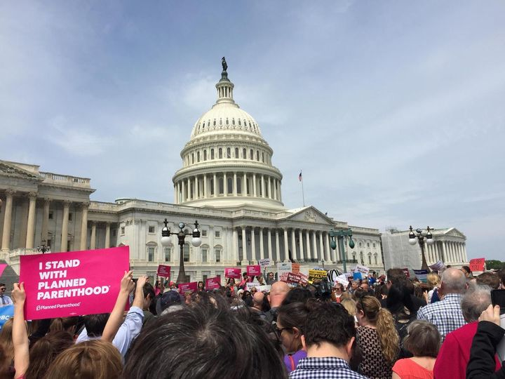 Protesters take on Capitol Hill in Washington D.C.