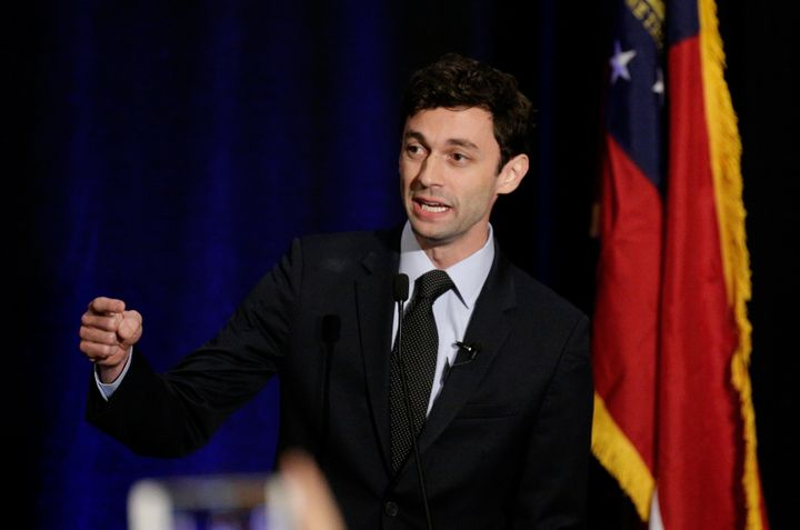 Democrat Jon Ossoff is in a tight race with Republican Karen Handel in Georgia's 6th District.