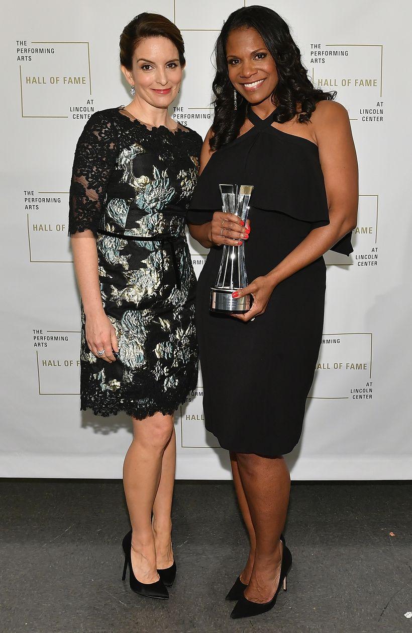Tina Fey and Audra McDonald