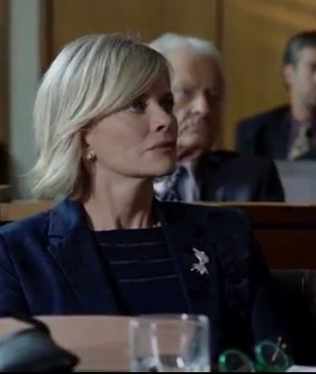 "Sara Garett (6 time Emmy® winner Mary Beth Evans) on trial in ""The Bay, The Series""!"