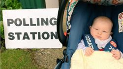 Parents Are Taking Their Babies To Polling Stations To Show Them That Voting