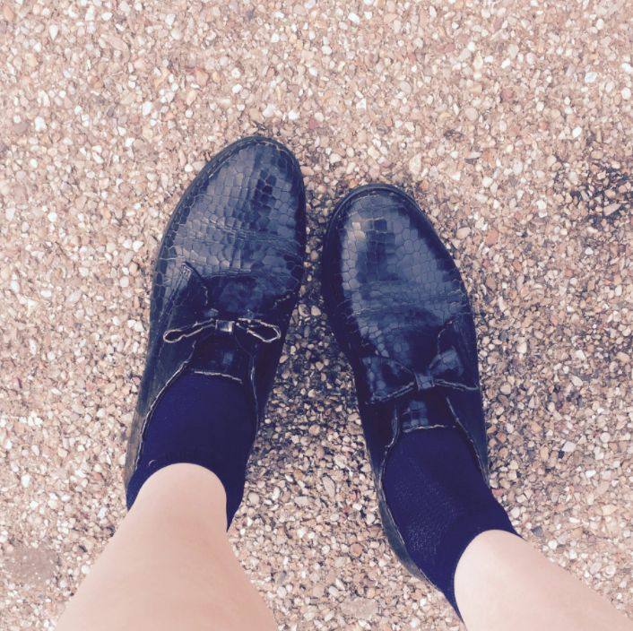 Voters Are Sharing Snaps Of Their Stylish 'Voting Shoes', And We Can't Get