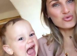 Sam Faiers Captures Baby Paul's Adorable Giggle In Playful Instagram Video