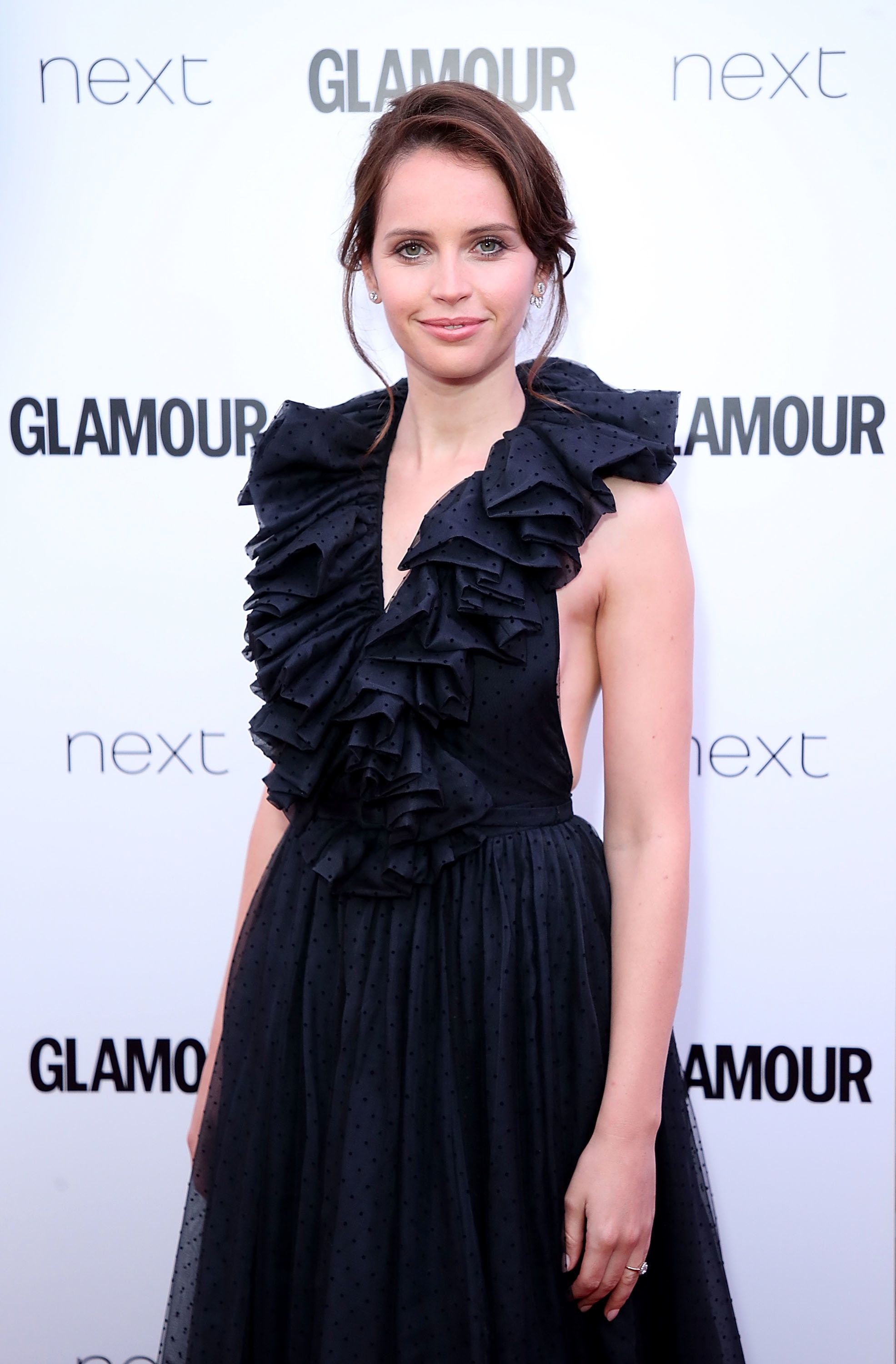 Felicity Jones Dazzles Us With Her 'Engagement Ring' On The Red