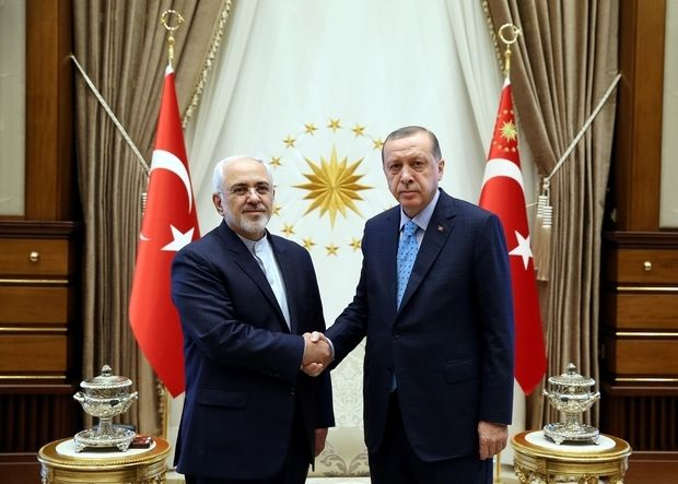 The Iranian foreign minister Javad Zarif was in Ankara on Wednesday