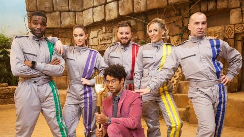 Revealed! Here's Who Is Taking On 'The Crystal Maze' In This Month's Charity