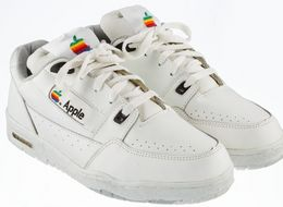 This Vintage Pair Of Apple Trainers Are Expected To Sell For A Staggering $30,000