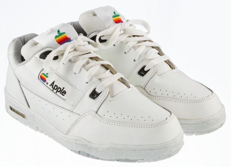 This Vintage Pair Of Apple Trainers Are Expected To Sell For A Staggering