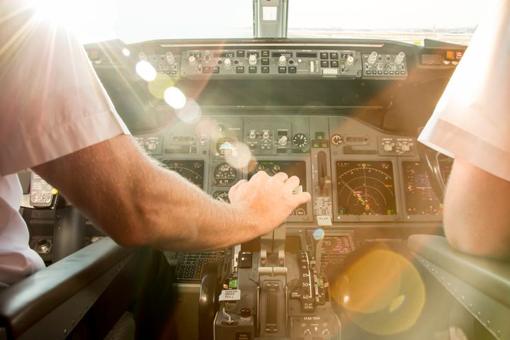 Things that are nice to have on a plane: pilots.