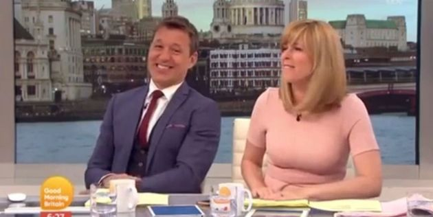 Ben Shephard was in a cheeky mood on Thursday's 'Good Morning