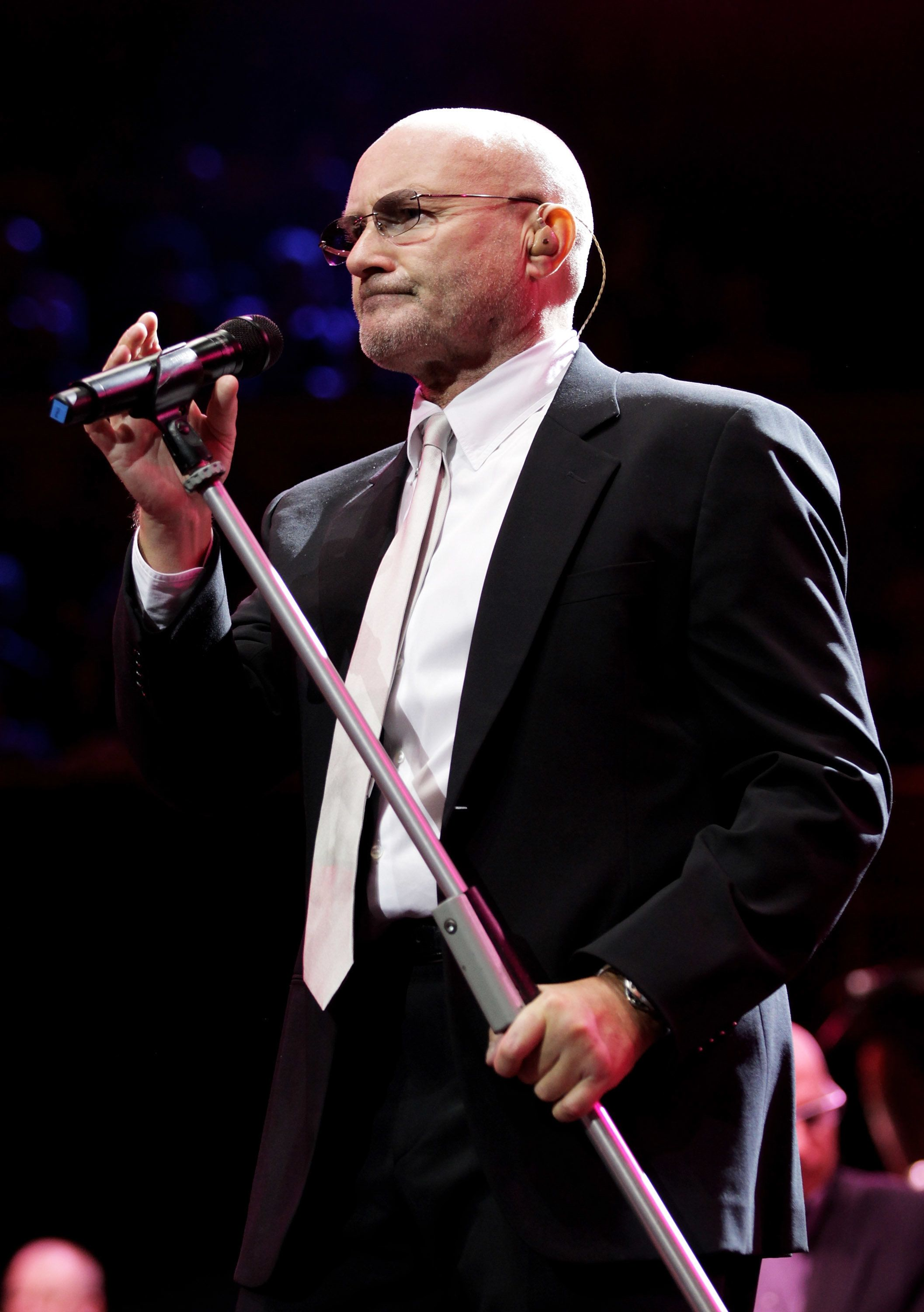 LONDON, ENGLAND - NOVEMBER 17:  Musician Phil Collins performs at The Prince's Trust Rock Gala 2010 supported by Novae at the Royal Albert Hall on November 17, 2010 in London, England.  (Photo by Chris Jackson/Getty Images)