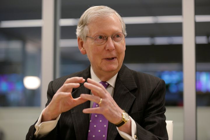 The Comey hearing is great news for Senate Majority Leader Mitch McConnell's health care plans.