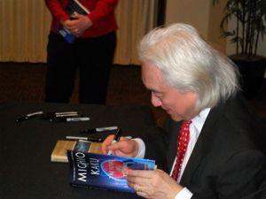 Dr. Michio Kaku at Wright State University in 2014