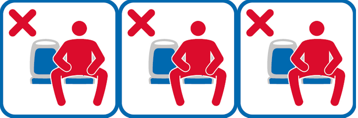 Madrid's new anti-manspreading campaign is similar to that in New York City.