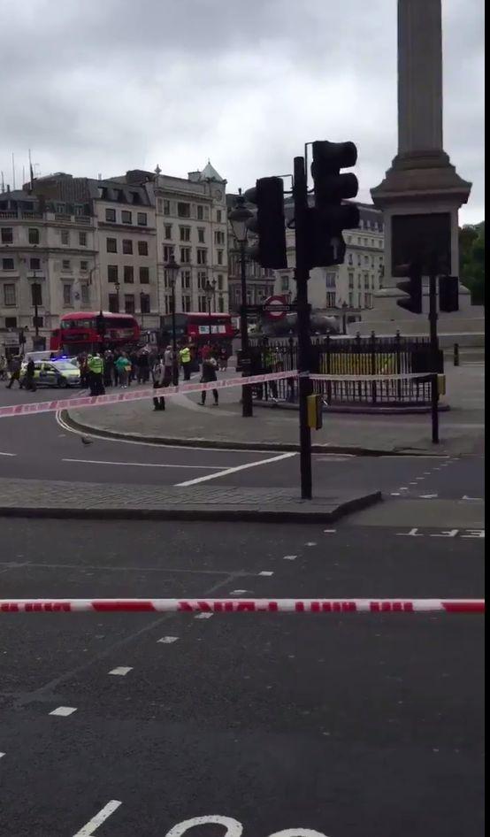 Trafalgar Square Evacuated After Police Find 'Suspicious