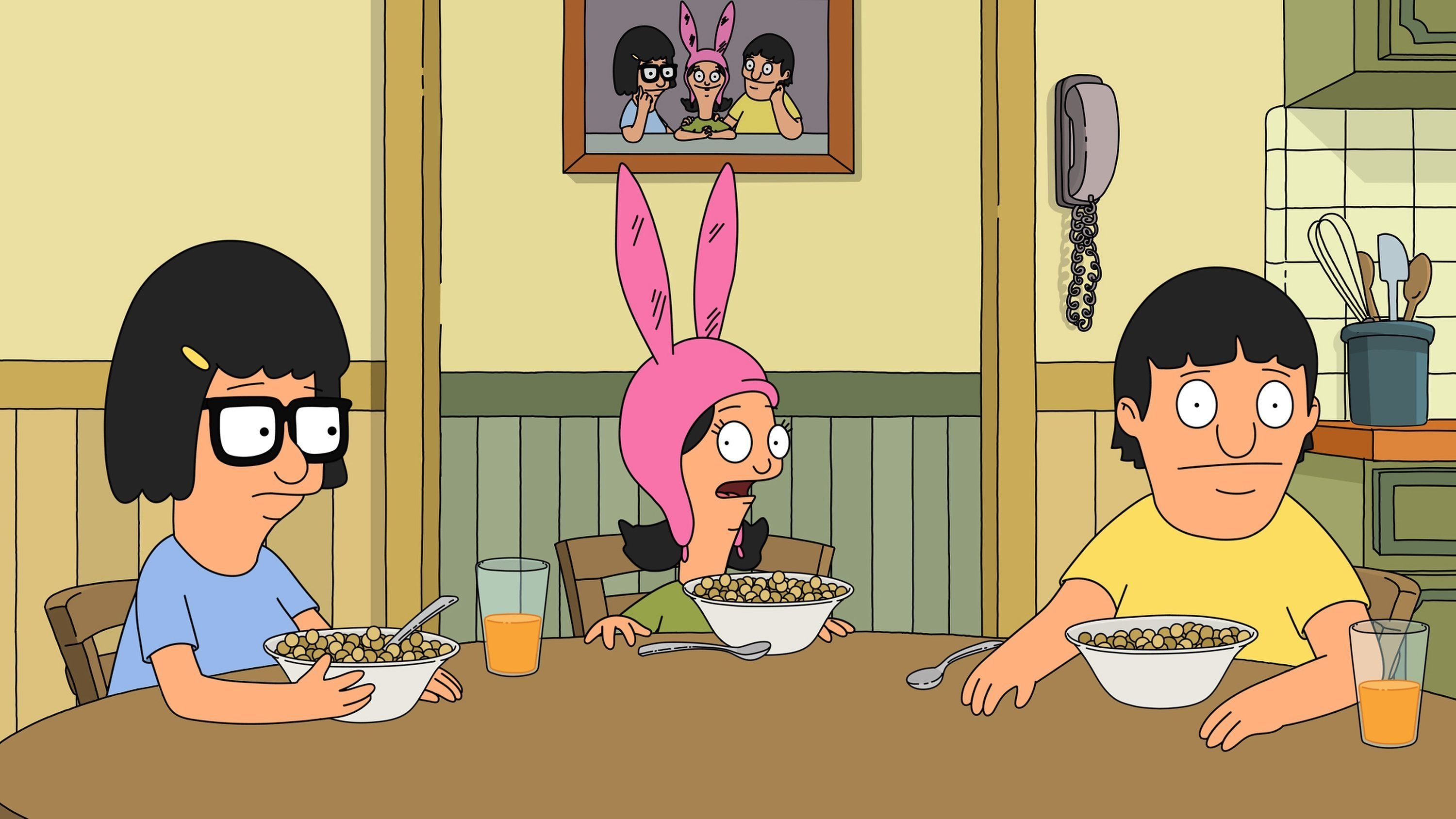"""Bob's Burgers"" and other animated shows can provide an easy escapism."