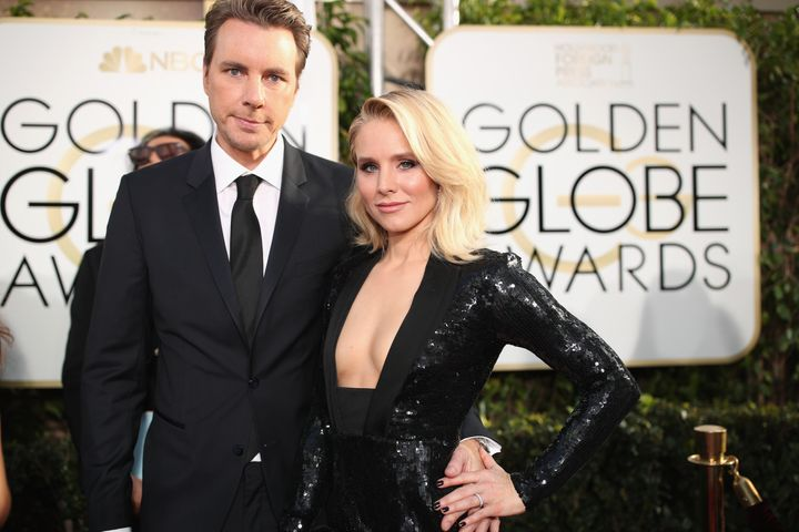 Bell has two children with her husband, Dax Shepard.