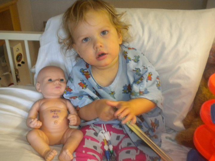 <p>Chloe Barnes, rare disease patient</p>
