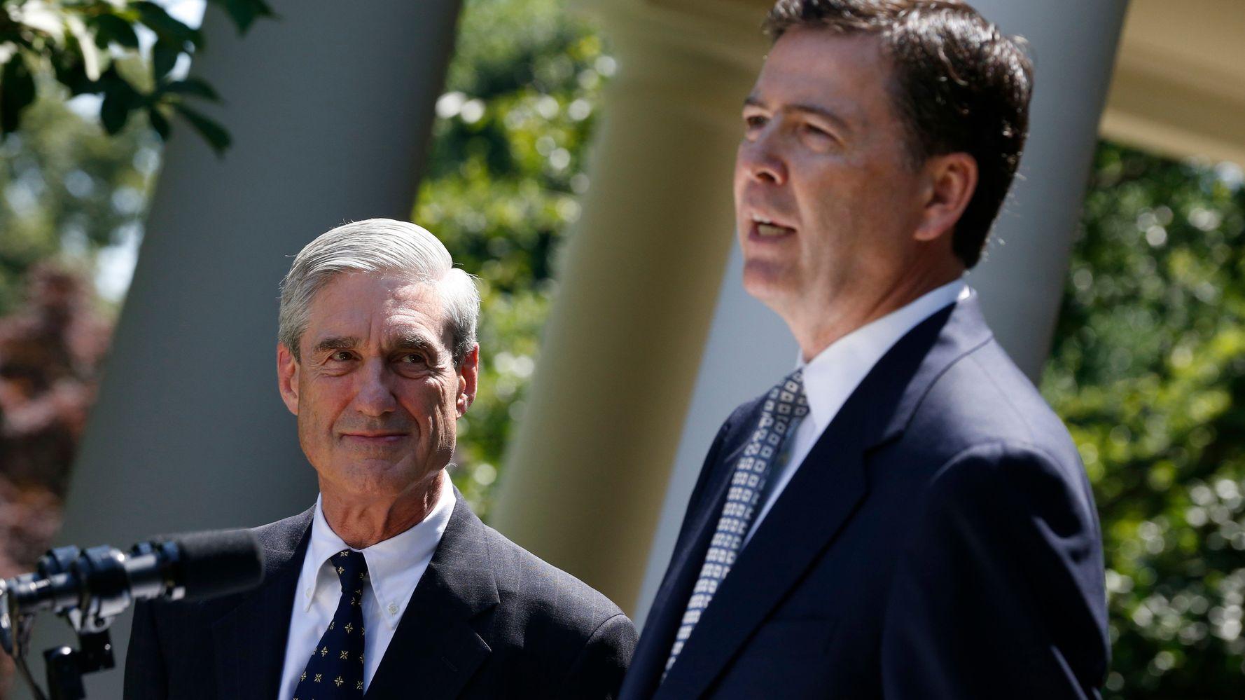 No, Robert Mueller And James Comey Aren't Heroes | HuffPost