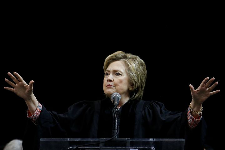 Former Secretary of State Hillary Clinton told graduates at a Brooklyn, New York, college on Thursday, June 8, 2017, that the