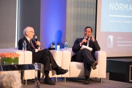 TV producer Norman Lear; Rep. Joaquin Castro